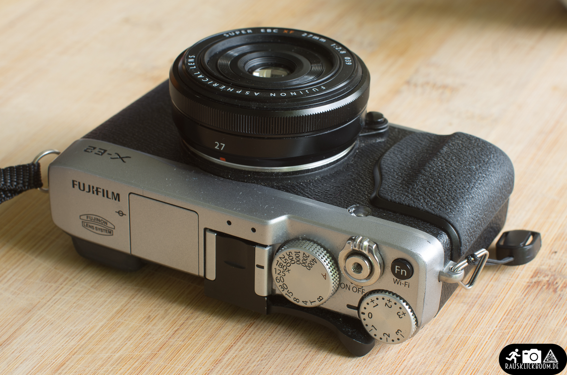Fujinon XF27mm F2.8 an der Fujifilm X-E2 - Test, Review, Hands-On