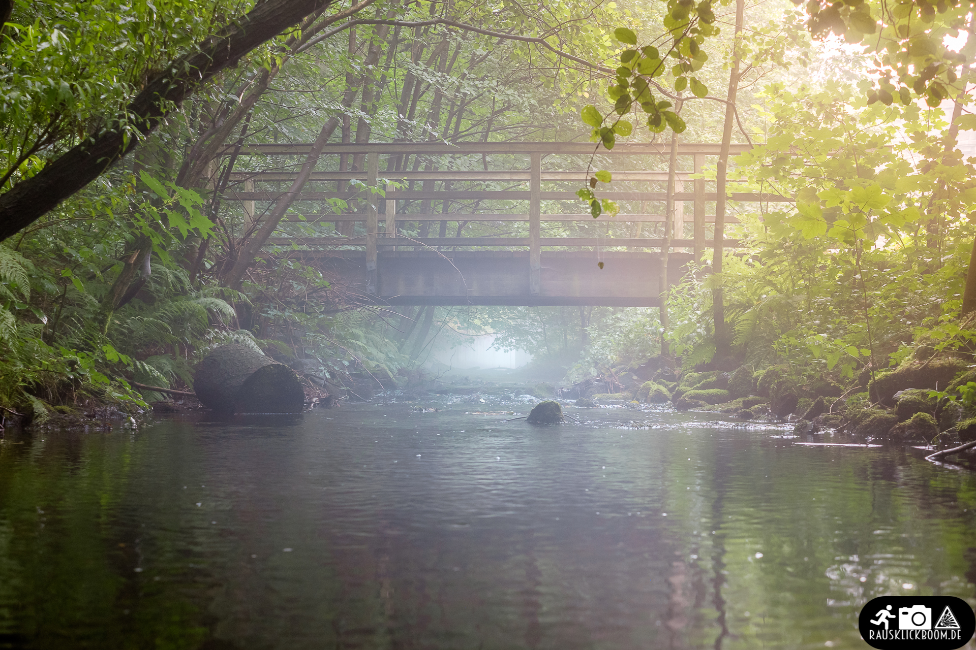 Brücke über den Eschbach bei Nebel