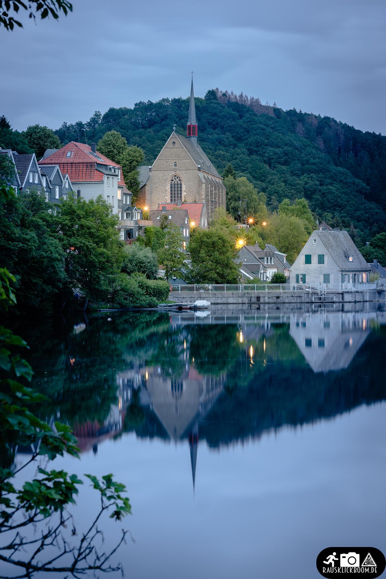 Beyenburger Stausee - Wupper - Kirche