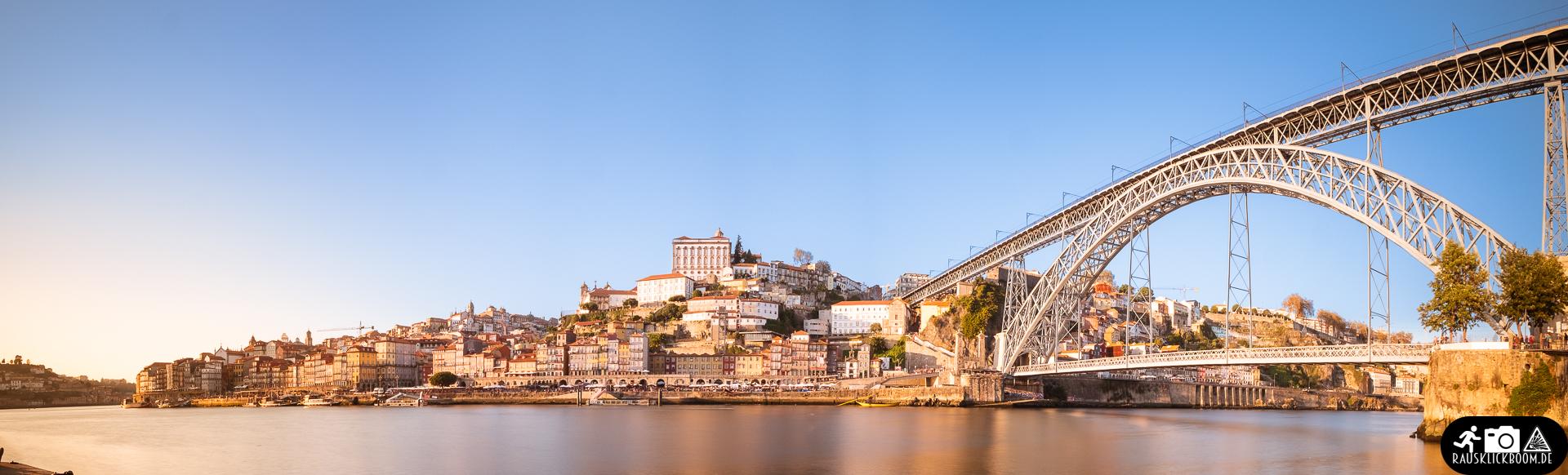 Panorama Porto Sonnenuntergang